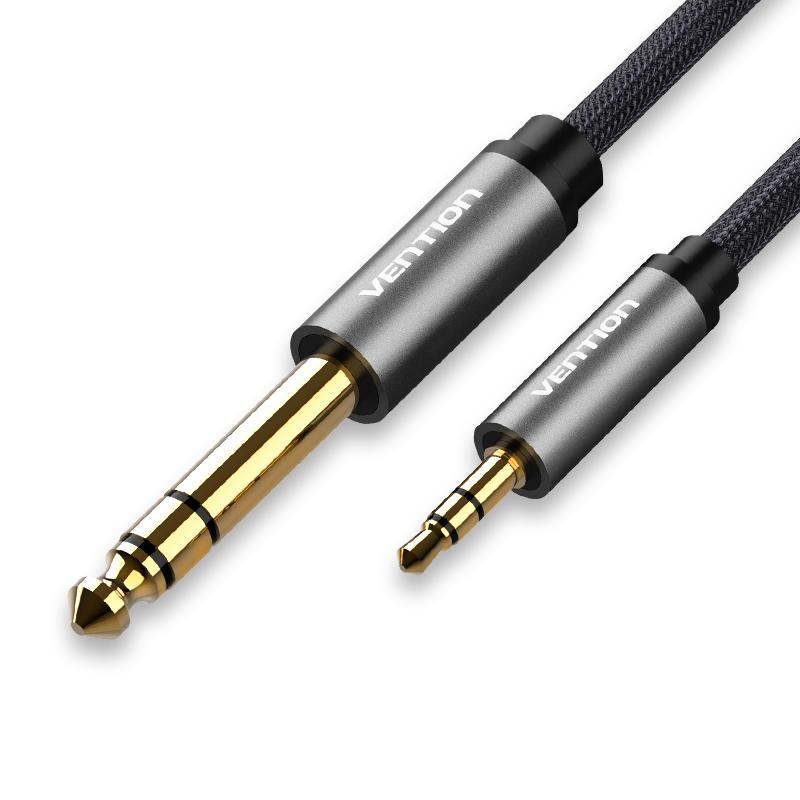 威迅 BAB3.5转6.5音频线3.5mm转6.35电脑功放音响公对公连接线