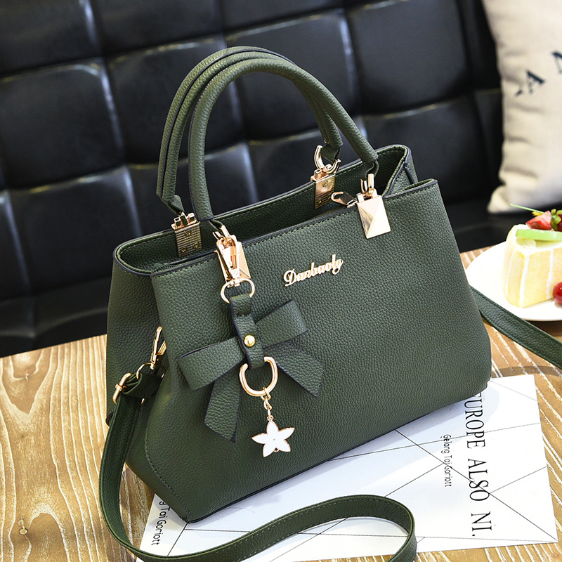 Ladies bag 2018 autumn and Winter new handbag atmospheric Korean tide fashion wild shoulder bag messenger bag