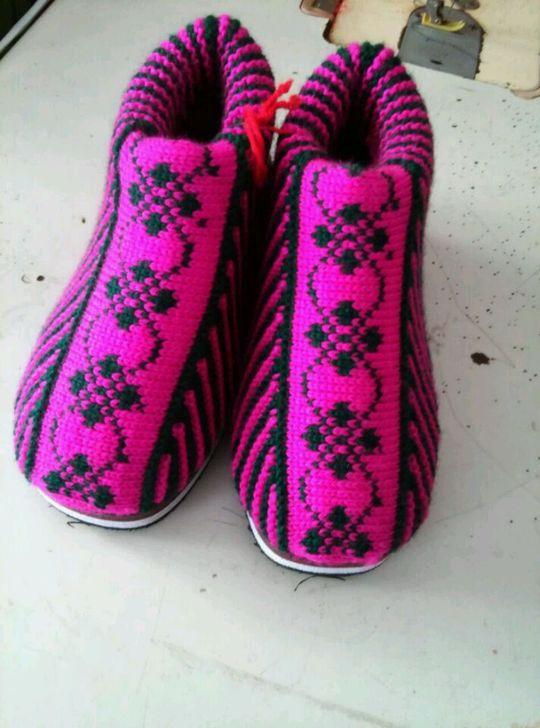 陈妈妈亲手手工制作暖心牌全新棉鞋,花样多种,可定做样式颜色