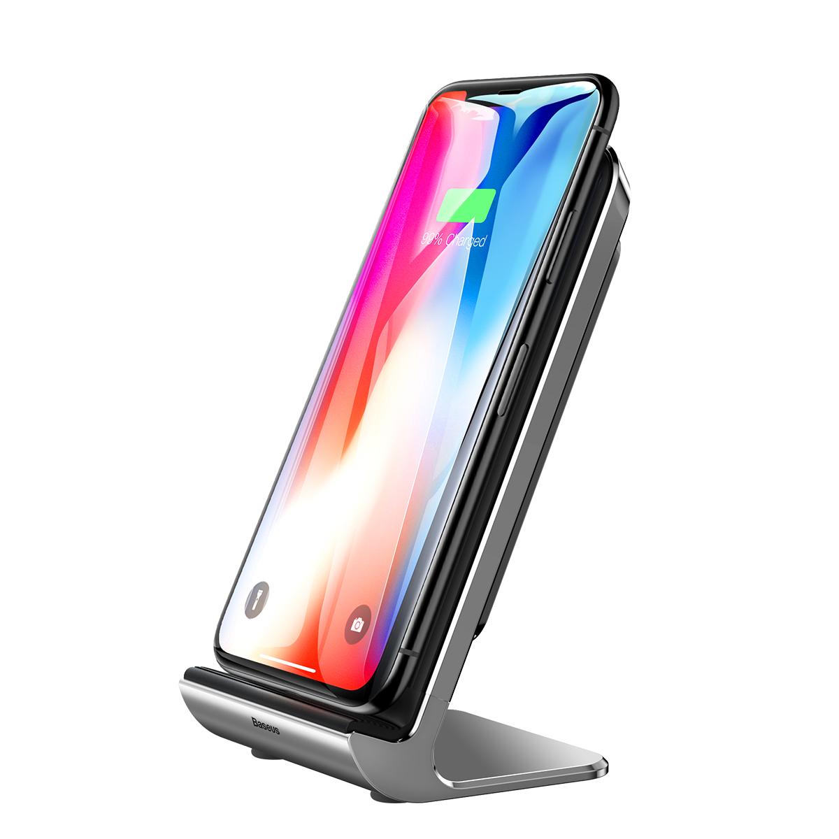 倍思iphoneX苹果无线充电器iPhone8plus手机iphonexsmax快充X专用xs小米mix2s三星s8安卓