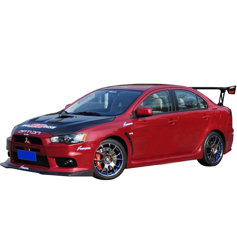 Обвес EVO изменен bodykit аксессуары Mitsubishi крыло Бога в окружении фронт и задний бампер стороне юбки крыла Бога evo10