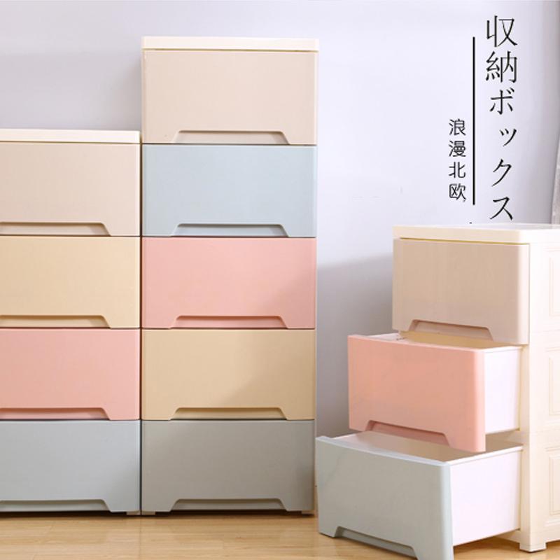 收纳柜子衣物组装抽屉式塑料多层多功能简易婴儿童宝宝大号储物柜