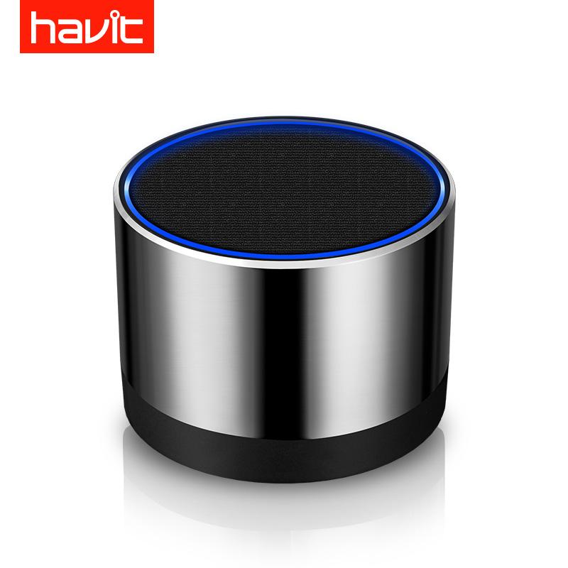 havit-海威特 M10迷你无线蓝牙音箱响便携插卡低音炮手机电脑户外