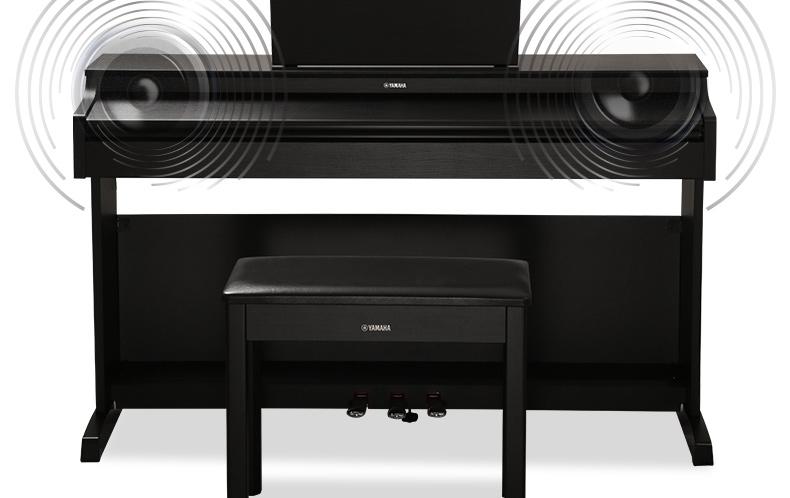雅马哈电钢琴ydp-163b ydp163r 163wh电子数码钢琴88键重锤带琴盖图片
