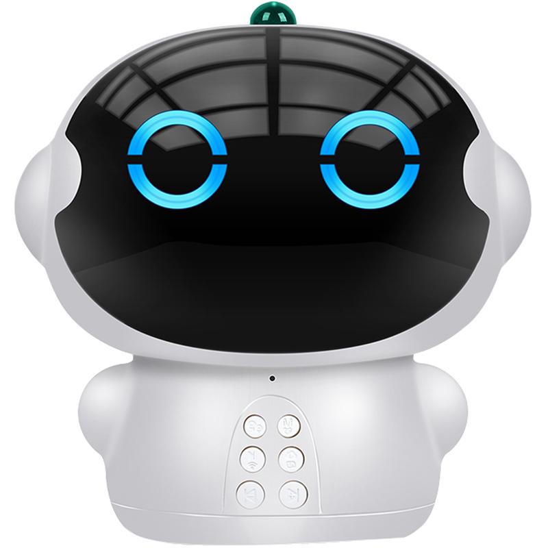 儿童睡前讲故事机小白机器人智能语音对话国学机连wifi启蒙早教机