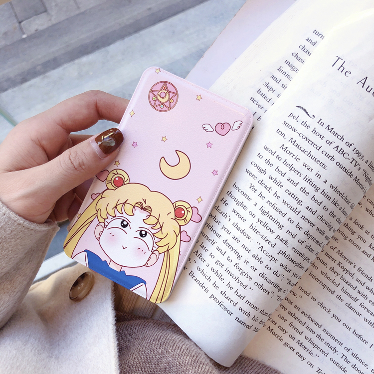 Ins wind small fresh power bank beauty girl warrior cartoon cute mobile power holiday gift sit to map custom