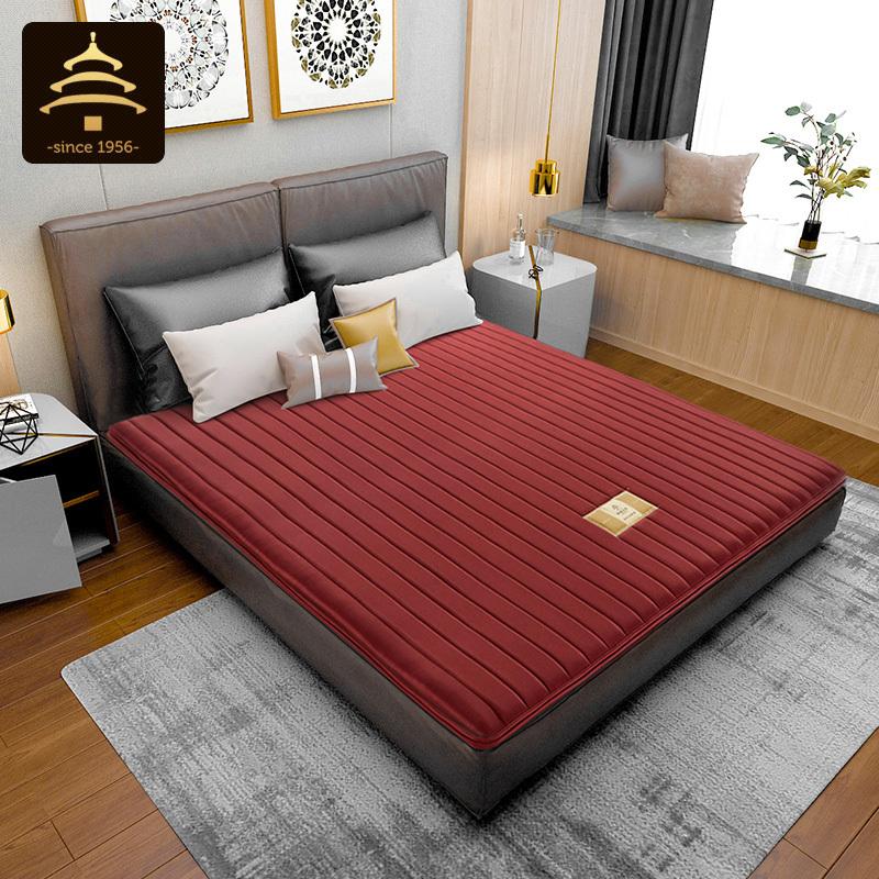 天坛家具椰棕床垫 偏硬护脊1.5米天然棕垫 经济型薄1.8m双人床垫