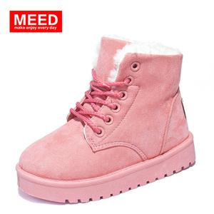 韩版儿童保暖雪地靴男女童棉靴子潮