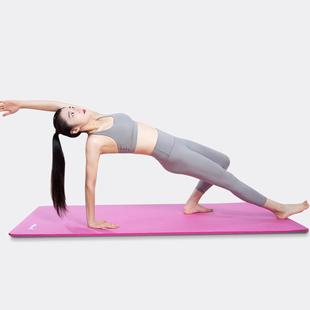 李宁瑜伽垫子地垫运动健身垫防滑喻咖垫加厚加宽家用初学者瑜珈垫