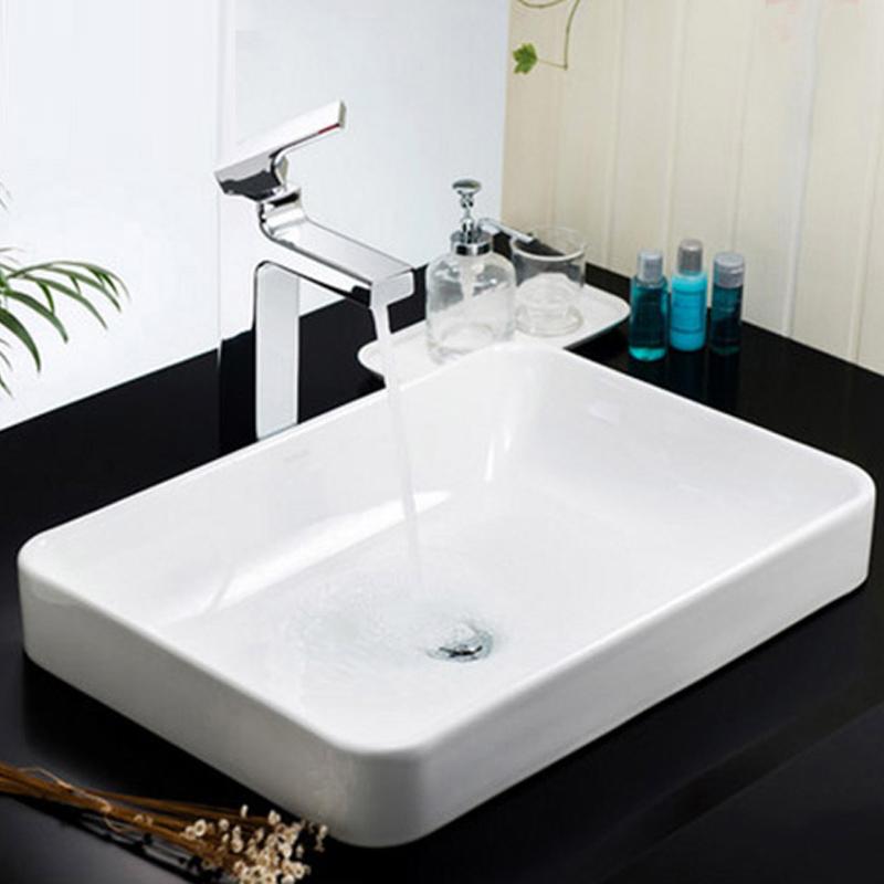 科勒台上盆 拂朗长方形洗手洗脸盆 陶瓷台盆面盆K-2660T-5373T