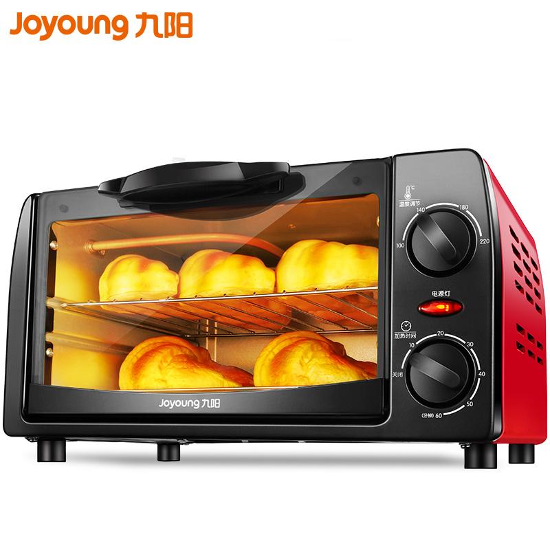 九阳电烤箱家用烘焙多功能全自动蛋糕迷你小型烤箱小烤箱正品10升