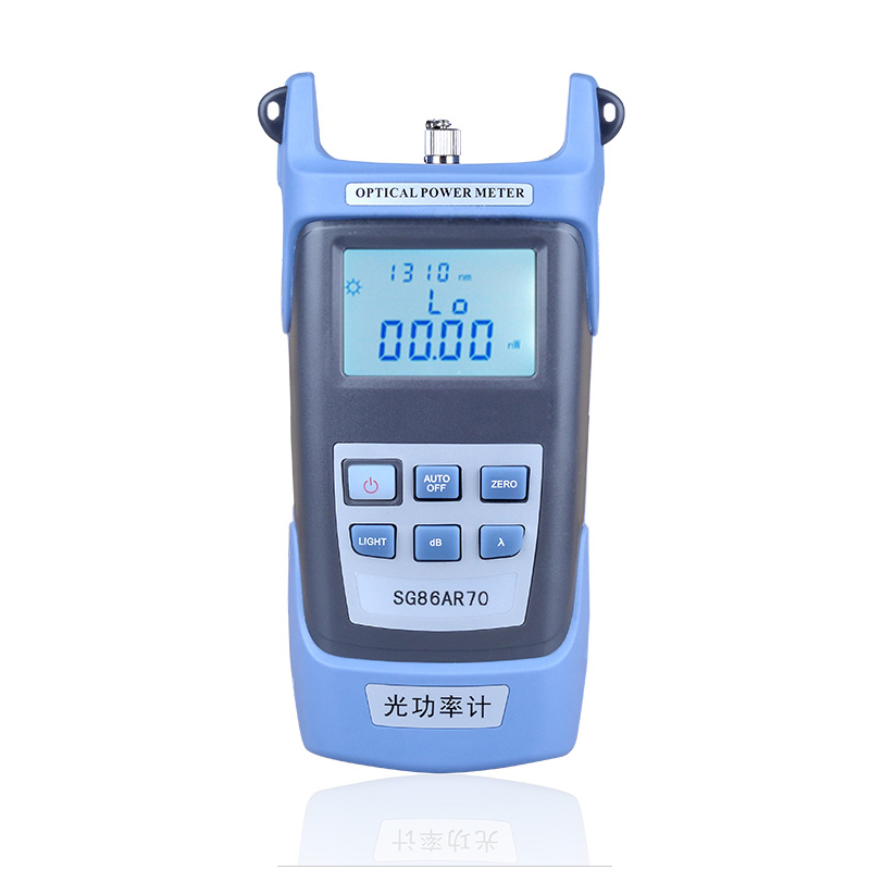 deep optical high precision optical power meter optical fiber tester optical fade test fc / sc connector lifetime warranty