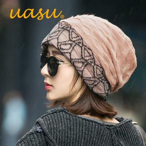 冬季女士针织帽