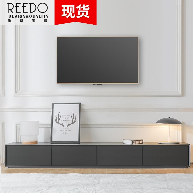 北欧茶几电视柜组合简约现代客厅木质家具小户型创意电视机柜定制