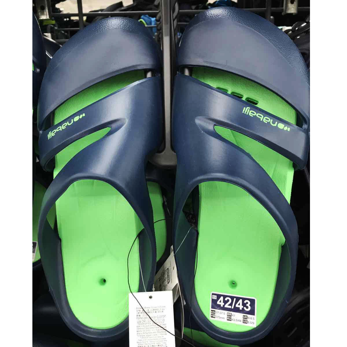 6556491c54 Sand swimming swimming shoes NABAIJI sandals Men s women s non-slip  Decathlon slippers Beach shoes sandals