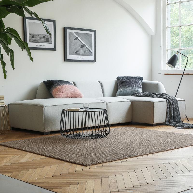 涵气质居丨北欧极简清晰客家设计师沙发出口海外舒适海蒂家具近几年获奖的室内设计图片