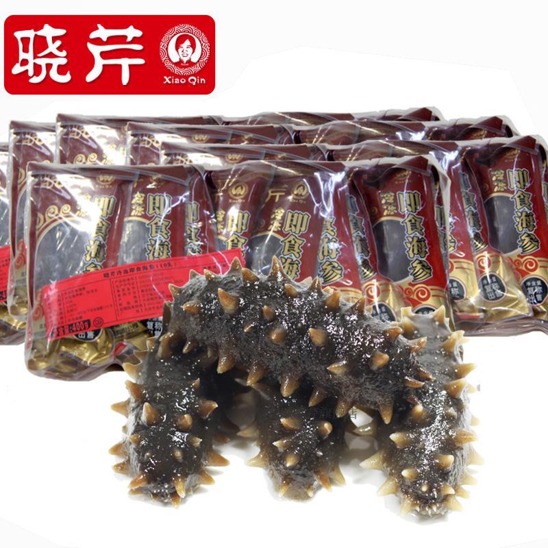晓芹海参 大连冷冻即食海参 2400克60只 海鲜礼盒