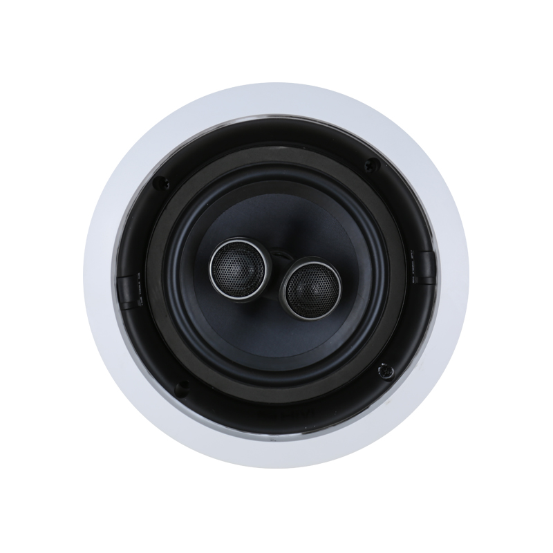 Hivi-惠威 VR6-SC定阻吸顶喇叭双高音家用同轴环绕音箱嵌入式音响