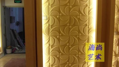 Панель из песчаника 艺术砂岩浮雕电视背景墙砖 人造沙岩板材 玄关客厅背景 砂岩砖