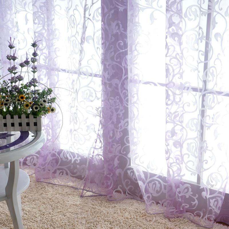 三唯一居欧式窗纱书房窗帘布料