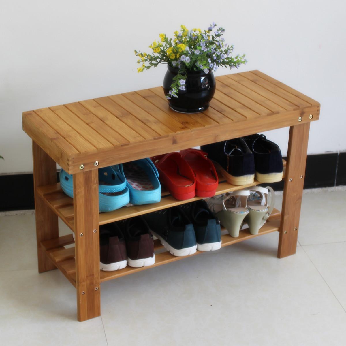 Как сделать обувную полку