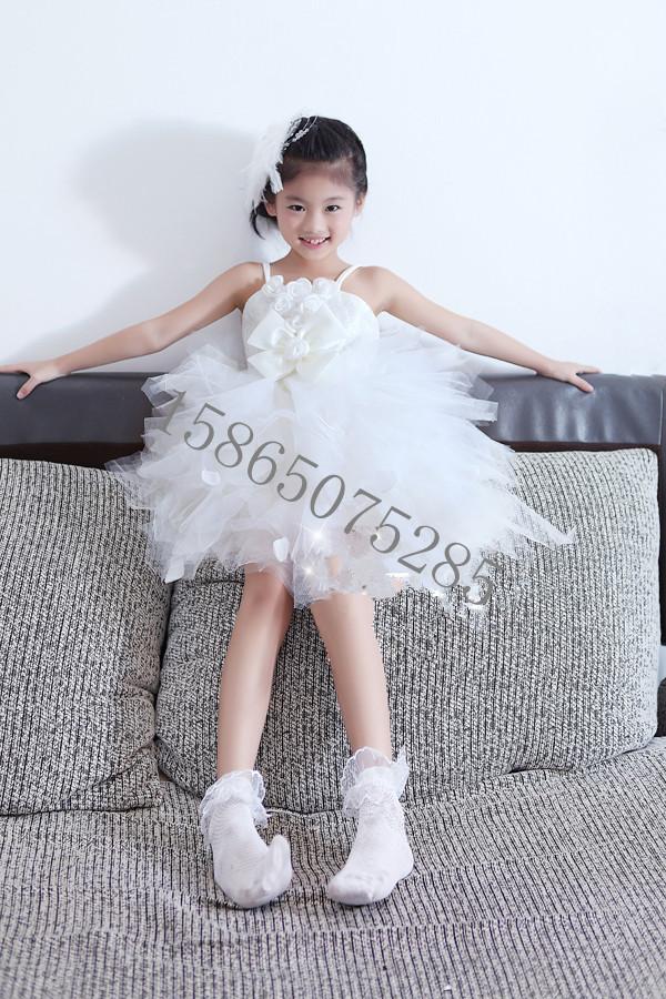 Девушки туту платье принцессы платье девушки дети платье принцессы пряжи юбка свадебное платье девушки цветка платья