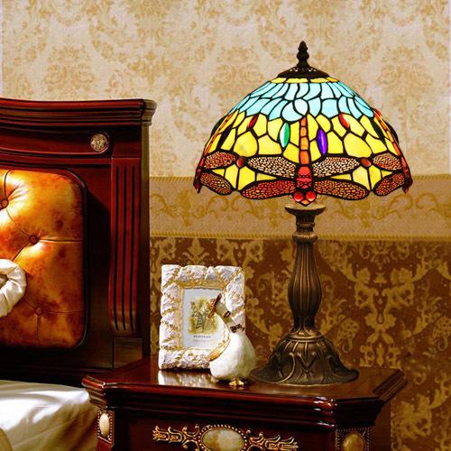马克尼尔蒂凡尼台灯彩色玻璃灯TD-023