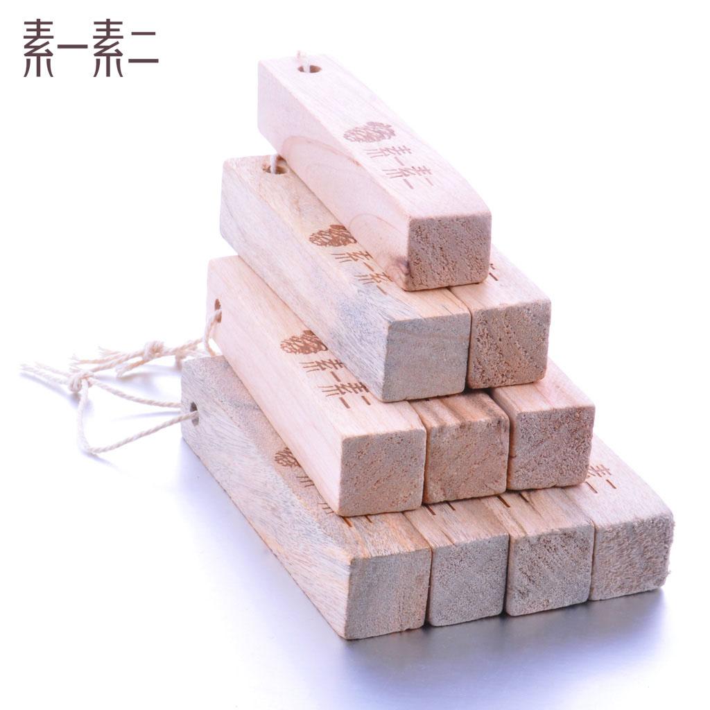 素一素二天然防虫樟木块10条装4818