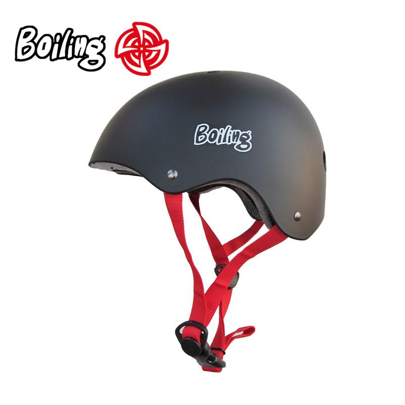 沸点护具 BOILING头盔  专业滑板头盔