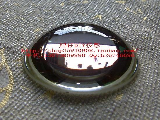 Комплектующие для проектора DIY-проектор Проекция аксессуары короткие конденсатора 75mmf = 80 мм (выглядит как большой хлеб)