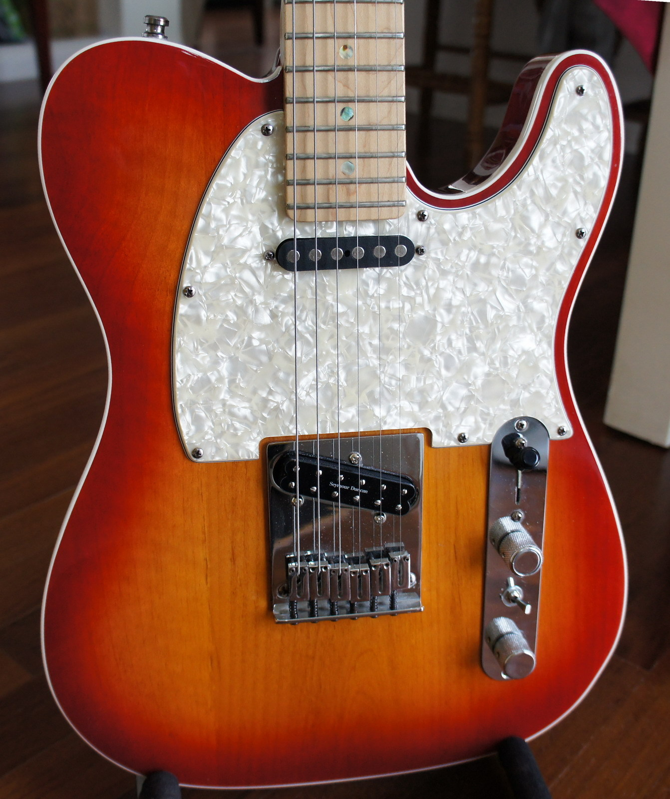 Электрогитара Fender  TELE 010-1602 Custom Shop CS