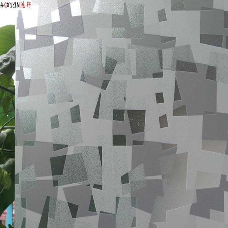 鸿轩办公室玻璃门窗贴膜20130088