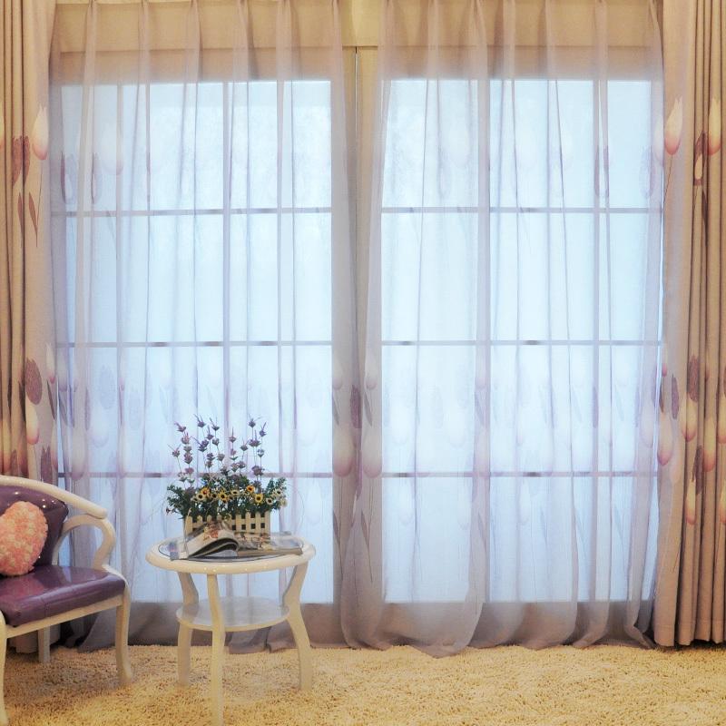 三唯一居美式居家窗帘麻纤维加工
