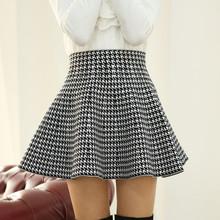 2015秋装新款半身裙 百褶裙女 高腰短裙子