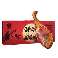 金华火腿官方店 3.25kg正宗礼盒整腿农家腌腊肉 年货送礼 两年腿