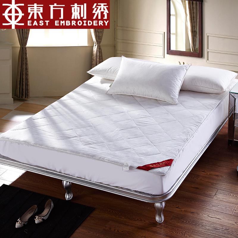 东方刺绣家纺秋冬款贵族蚕丝床垫wd002