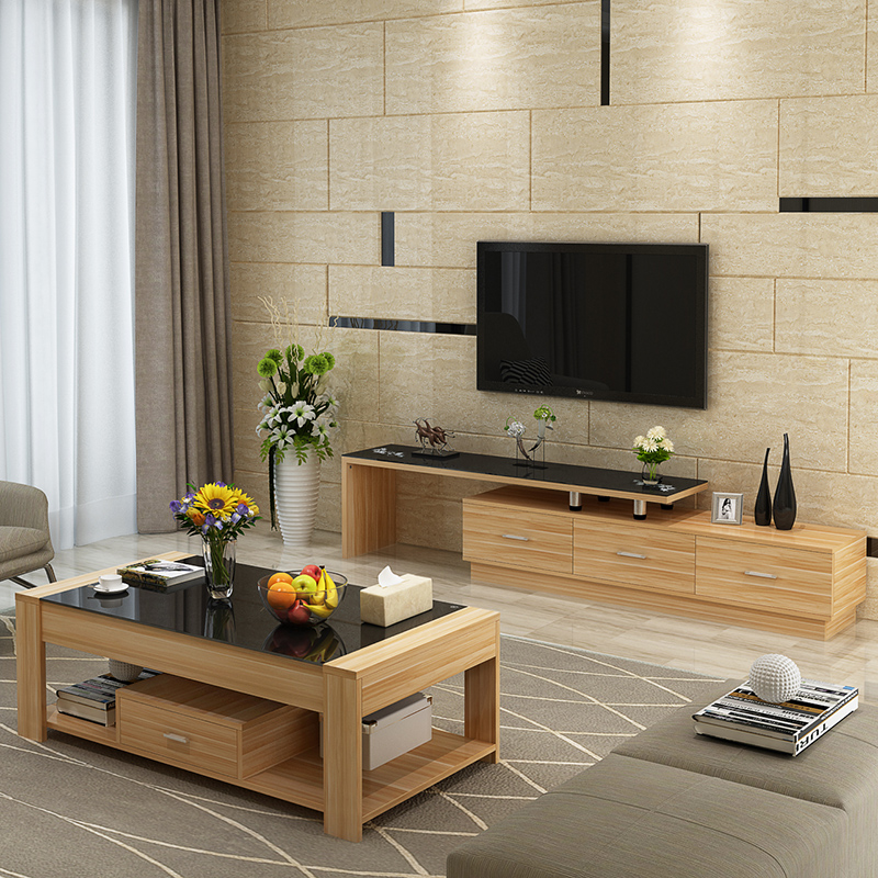 金耀钢化玻璃电视柜