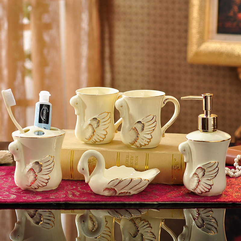 雅居坊陶瓷漱口杯J0015