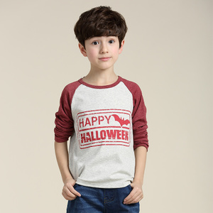 Kids Boys long-sleeved T-shirt Korean children long-sleeved t-shirt Spring and Autumn paragraph Kids big virgin base shirt