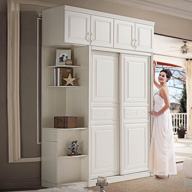 整体移门衣柜 推拉门衣柜 卧室家具板式衣柜 定做定制衣柜衣帽间