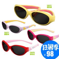 保圣经典款儿童太阳镜男童女童宝宝防紫外线偏光镜墨镜S1207