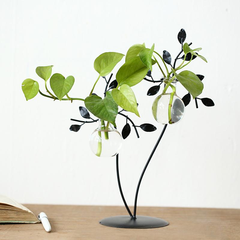 居饰工坊植物玻璃瓶150573