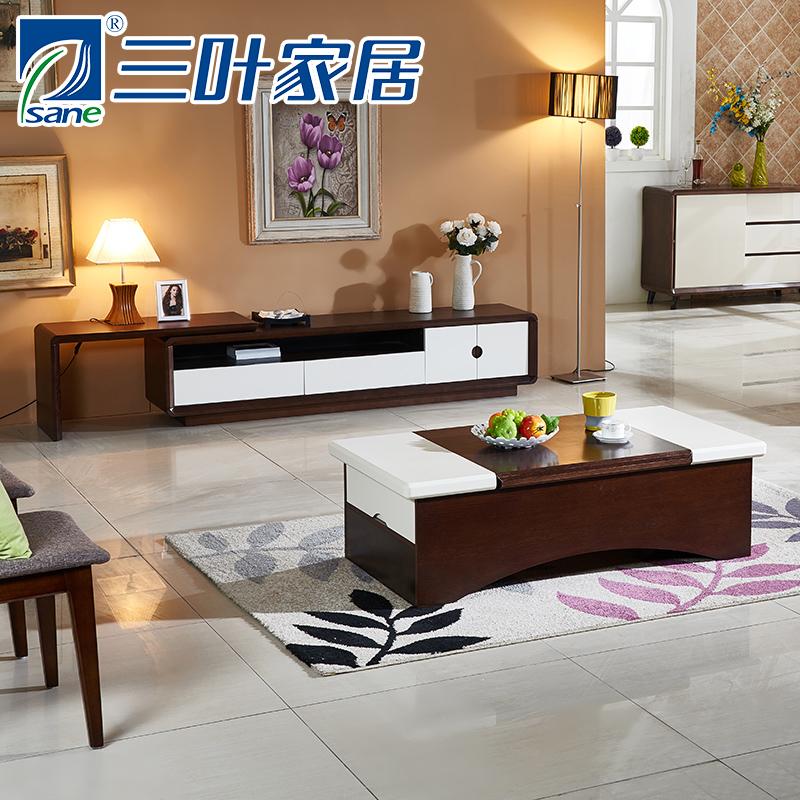 三叶家私现代实木家具K806