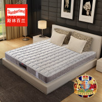 斯林百兰天然乳胶床垫1.8 1.5米软硬适中弹簧床垫席梦思