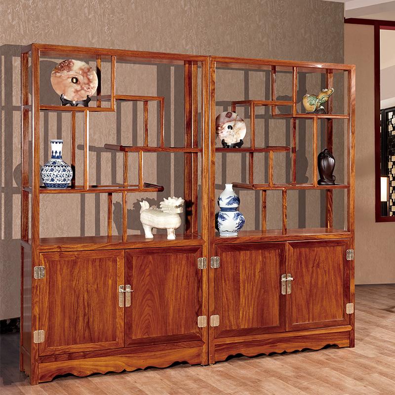 爱尚妮私多宝阁博古架红木古典中式家具书架