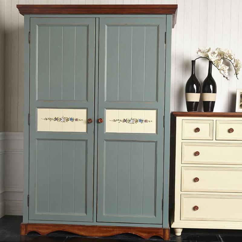 贝尼尼美式纯实木水性漆衣柜YG-01-130