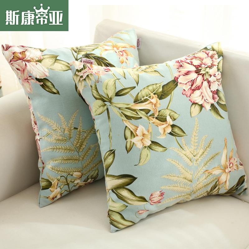 斯康蒂亚现代简约风枕头靠垫沙发抱枕0427-001