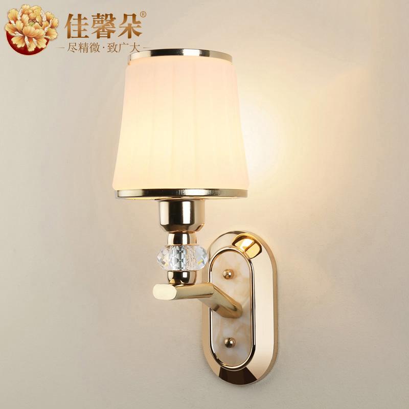 佳馨朵现代简约金色壁灯JXD-8054