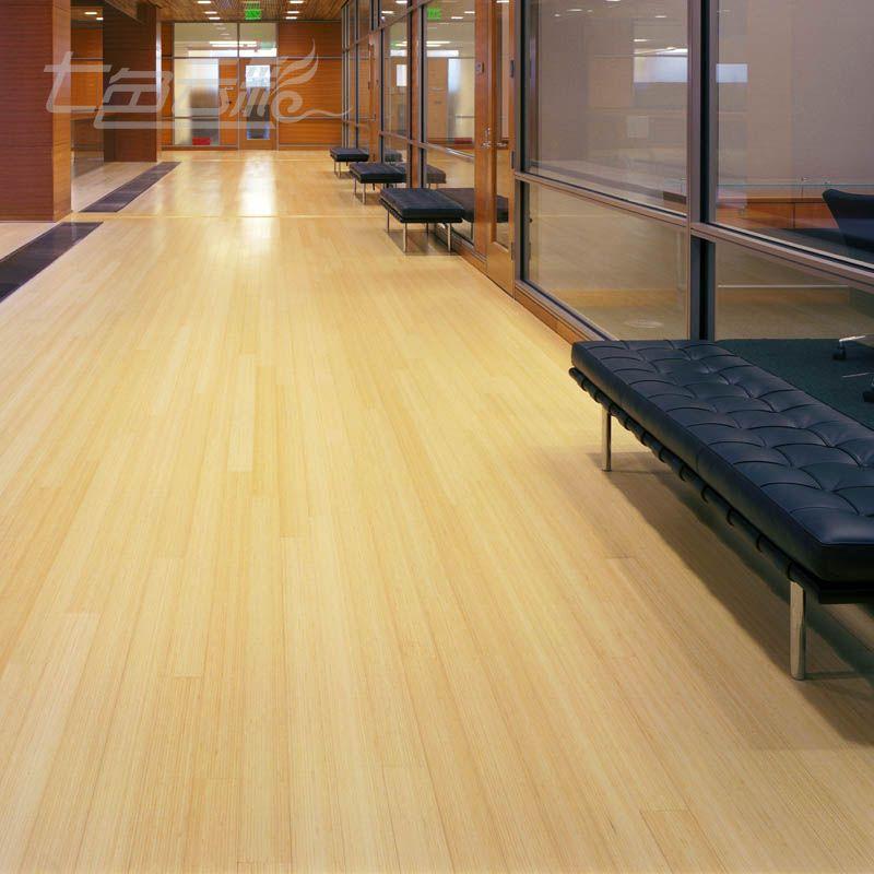 七色云彩碳化竹地板QB005