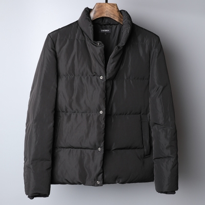 007 shopkeeper recommended cooked men's jacket winter new warm men's white duck down collar down jacket warm coat